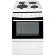 Amica 608EE2TAW Single Electric Cooker - White Best Price, Cheapest Prices