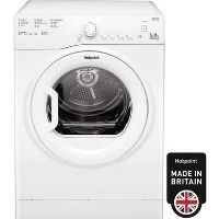 GRADE A1 - Hotpoint TVFS73BGP9 7kg Freestanding Vented Tumble Dryer - White Best Price, Cheapest Prices