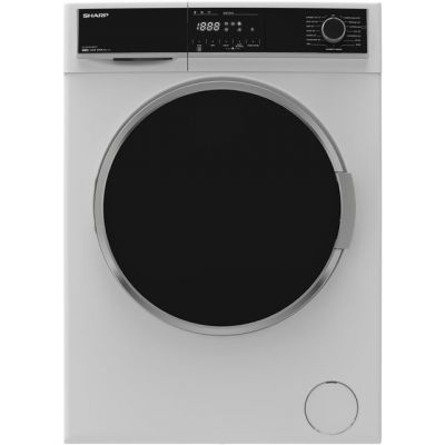 Sharp ES-HFH0148W3 10Kg Washing Machine with 1400 rpm - White - A+++ Rated Best Price, Cheapest Prices