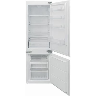 Baumatic BRCIS3180E Integrated 70/30 Fridge Freezer with Sliding Door Fixing Kit - White - A++ Rated Best Price, Cheapest Prices