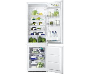 Zanussi ZBB28442SA Integrated 70/30 Fridge Freezer with Sliding Door Fixing Kit - White - A+ Rated Best Price, Cheapest Prices