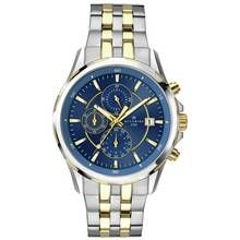 Accurist Men's Two Tone Stainless Steel Chronograph Watch Best Price, Cheapest Prices