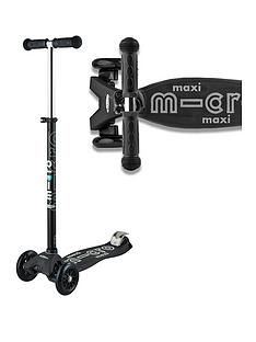 Micro Scooter Maxi Micro Deluxe - Black / Grey Best Price, Cheapest Prices