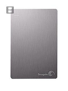 Seagate 2Tb Backup Plus Slim Portable Hard Drivewith Optional 2 Year Data Recovery Plan Best Price, Cheapest Prices