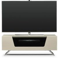 Alphason CRO2-1000CB-IVO Chromium 2 TV Stand for up to 50