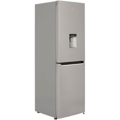Hisense RB381N4WC1 50/50 Frost Free Fridge Freezer - Stainless Steel Effect - A+ Rated Best Price, Cheapest Prices