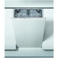 Indesit DSIE2B10 10 Place Slimline Fully Integrated Dishwasher Best Price, Cheapest Prices