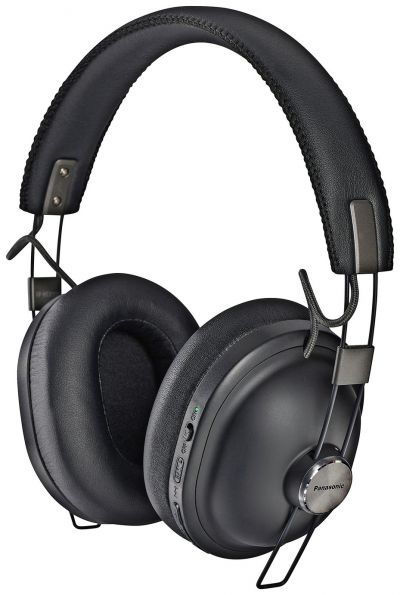 Panasonic RP-HTX90N-K Over-Ear Wireless Headphones - Black Best Price, Cheapest Prices