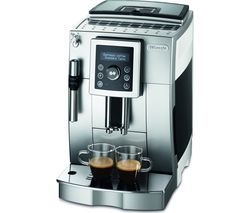 DELONGHI ECAM23.420 Bean to Cup Coffee Machine - Silver, Black & White Best Price, Cheapest Prices