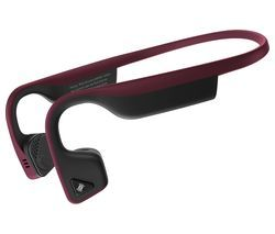 AFTERSHOKZ Trekz Titanium Wireless Bluetooth Headphones - Canyon Red Best Price, Cheapest Prices
