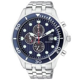 Citizen Eco-Drive Men's Stainless Steel Chronograph Watch Best Price, Cheapest Prices