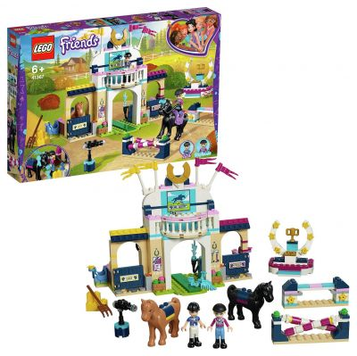 LEGO Friends Stephanie's Horse Jumping Playset - 41367 Best Price, Cheapest Prices