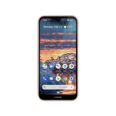 SIM Free Nokia 4.2 32GB Mobile Phone - Pink Sand Best Price, Cheapest Prices