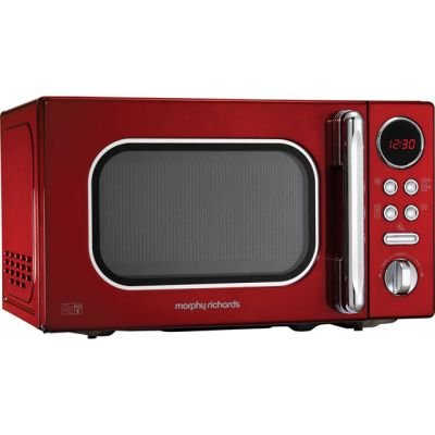 Morphy Richards Evoke 511502 20 Litre Microwave - Red Best Price, Cheapest Prices