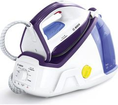 BOSCH Vario Comfort TDS6080GB Steam Generator Iron - White & Violet Best Price, Cheapest Prices