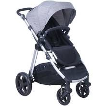 Cuggl Beech Pushchair - Black and Silver