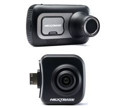 NEXTBASE 522GW Quad HD Dash Cam with Amazon Alexa & NBDVRS2RFCZ Full HD Rear View Dash Cam Bundle Best Price, Cheapest Prices