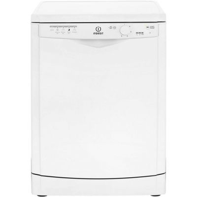 Indesit Eco Time DFG15B1 Standard Dishwasher - White - A+ Rated Best Price, Cheapest Prices