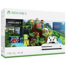 Xbox One S 1TB Console with Minecraft Collection Bundle Best Price, Cheapest Prices