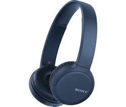 SONY WH-CH510 Wireless Bluetooth Headphones - Blue Best Price, Cheapest Prices