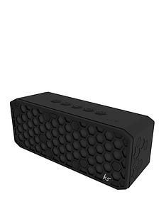 Kitsound Hive X Bluetooth Wireless Bluetooth Water Resistant Speaker with USB Device Charging Ability and up to 20 hours Play Time Best Price, Cheapest Prices