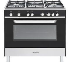 KENWOOD CK305G Gas Range Cooker - Black Best Price, Cheapest Prices