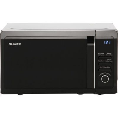Sharp R664KM 20 Litre Microwave With Grill - Black Best Price, Cheapest Prices