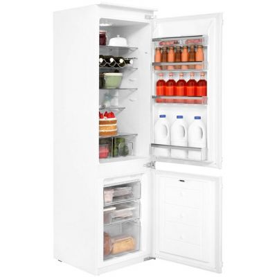Amica BK316.3FA Integrated 70/30 Frost Free Fridge Freezer with Sliding Door Fixing Kit - White - A+ Rated Best Price, Cheapest Prices