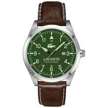 Lacoste Montreal Men's Brown Leather Strap Analogue Watch Best Price, Cheapest Prices