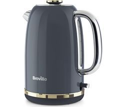 BREVILLE Mostra VKT141 Jug Kettle - Grey Best Price, Cheapest Prices
