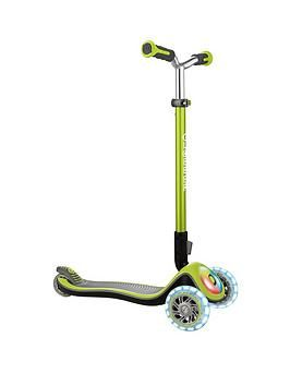 Globber Elite Prime Scooter - Lime Best Price, Cheapest Prices