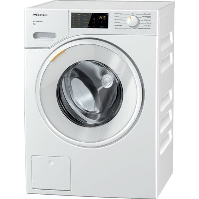Miele W1 WSD123 8Kg Washing Machine with 1400 rpm - White - A+++ Rated Best Price, Cheapest Prices