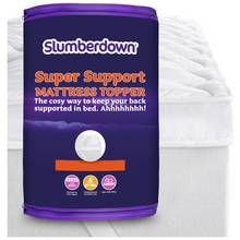 Slumberdown Support 4cm Mattress Topper - Double Best Price, Cheapest Prices