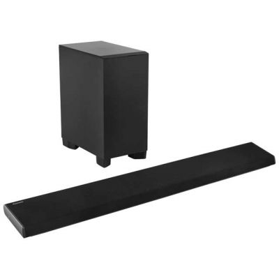 Panasonic SC-HTB690EBK Bluetooth Soundbar with Wireless Subwoofer - Black Best Price, Cheapest Prices