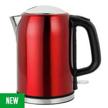Cookworks Bullet Kettle - Red Best Price, Cheapest Prices