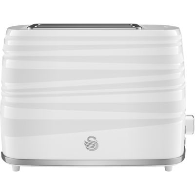 Swan Symphony ST31050WN 2 Slice Toaster - White Best Price, Cheapest Prices