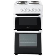 Indesit ID5E92KMW 50cm Twin Cavity Electric Cooker - White