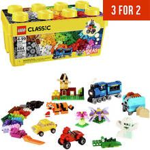 LEGO Classic Medium Creative Brick Box Building Set - 10696 Best Price, Cheapest Prices