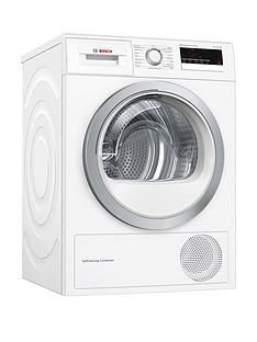 Bosch Serie 4 WTM85230GB 8kgTumble Dryer with Heat Pump Technology - White Best Price, Cheapest Prices