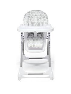Mamas & Papas Snax Highchair - Grey Hexagons Best Price, Cheapest Prices