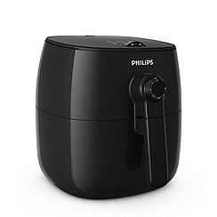 Philips Black 'Viva' airfryer HD9621/91 Best Price, Cheapest Prices