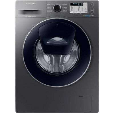 Samsung AddWash™ ecobubble™ WW90K5413UX 9Kg Washing Machine with 1400 rpm - Graphite - A+++ Rated Best Price, Cheapest Prices