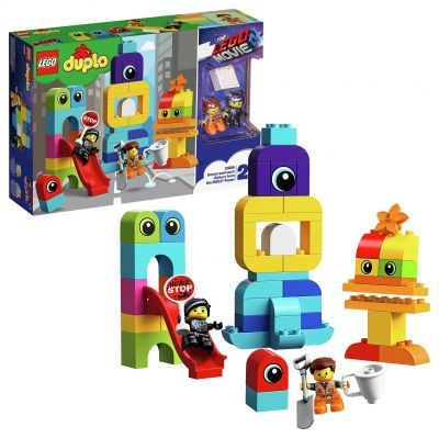 LEGO DUPLO LEGO Movie 2 Emmet and Lucy Playset - 10895 Best Price, Cheapest Prices