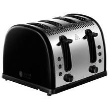 Russell Hobbs 21303 Legacy 4 Slice Toaster - Black Best Price, Cheapest Prices