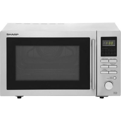 Sharp R82STMA 25 Litre Combination Microwave Oven - Stainless Steel Best Price, Cheapest Prices