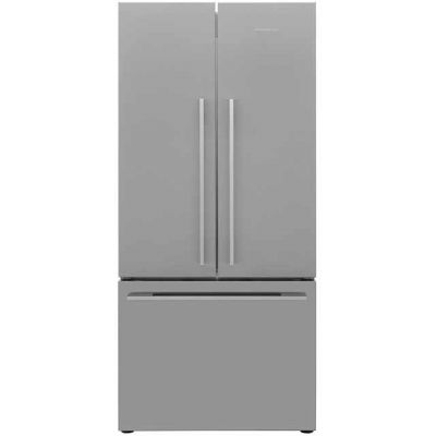 Fisher & Paykel Designer ActiveSmart RF522ADX4 American Fridge Freezer - Stainless Steel - A+ Rated Best Price, Cheapest Prices