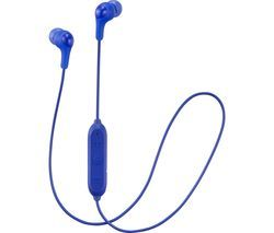 JVC Gumy HA-FX9BT-A-E Wireless Bluetooth Headphones - Blue Best Price, Cheapest Prices