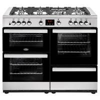 Belling Cookcentre 110G 110cm Gas Range Cooker in Stainless Steel 444444100 Best Price, Cheapest Prices