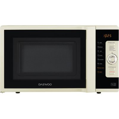 Daewoo KOC9C0TCR 28 Litre Combination Microwave Oven - Cream Best Price, Cheapest Prices