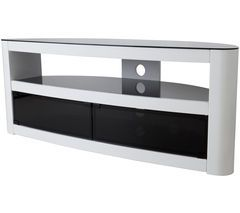 AVF Burghley 1250 mm TV Stand - White Best Price, Cheapest Prices
